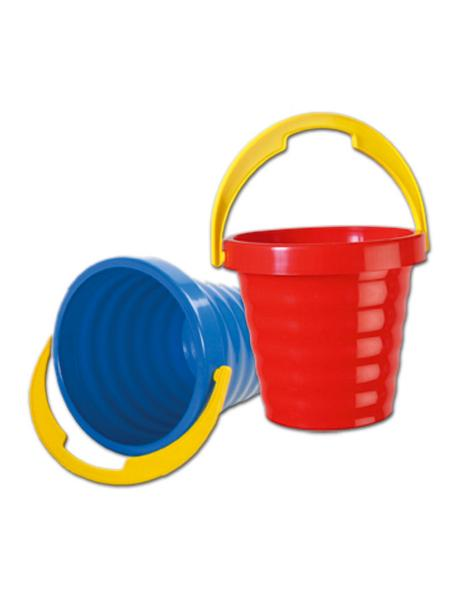 Műanyag vödröcske - piros