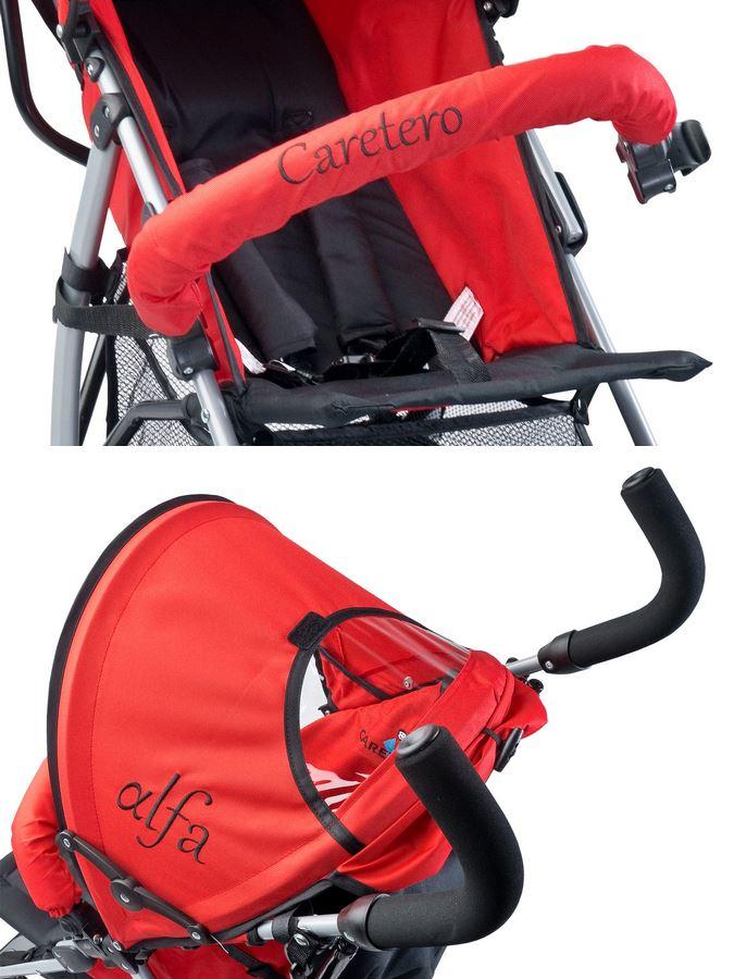 ... Golf babakocsi CARETERO Alfa 2016 piros ... d54a2d9372