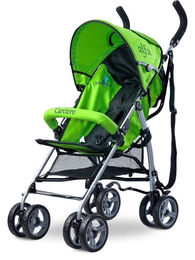 Golf babakocsi CARETERO Alfa 2016 zöld