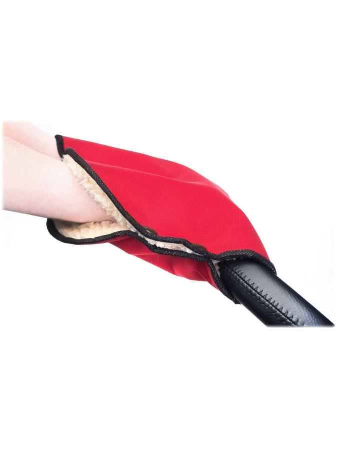 Kézmelegítő babakocsira Sensillo 40x45 red