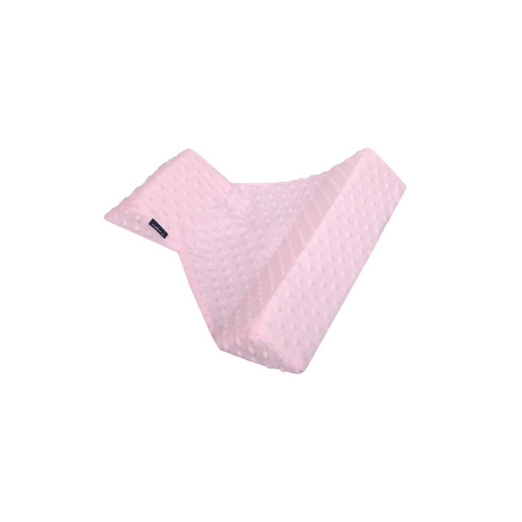 Háromoldalú támasz Minky  Womar rózsaszín