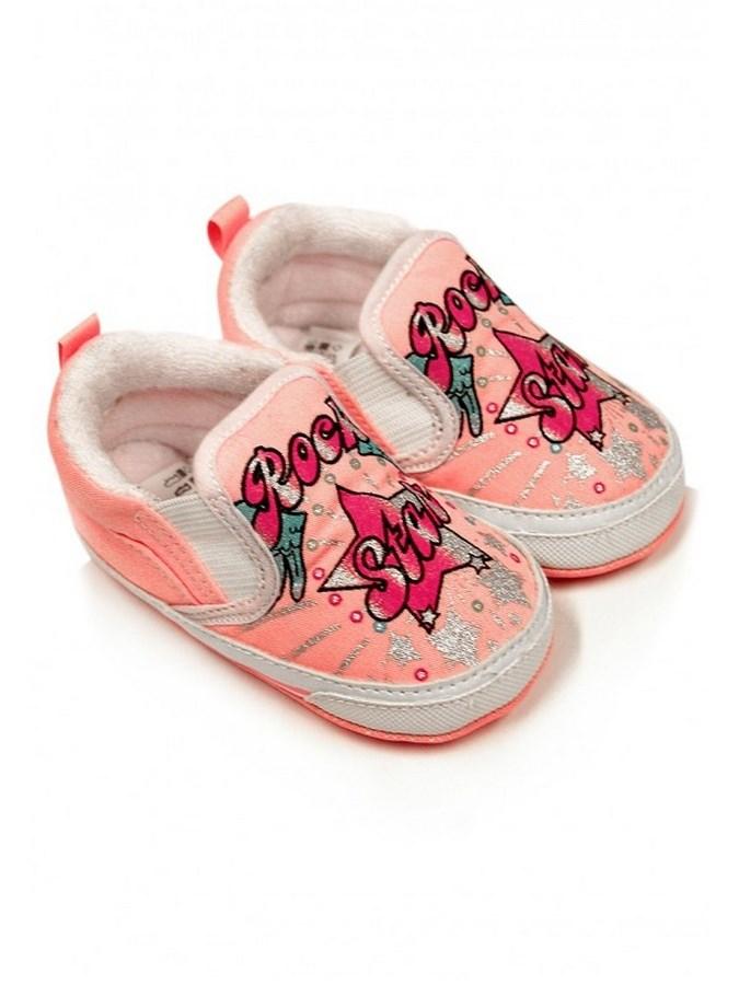 Gyermek cipellő Bobo Baby 12-18h rózsaszín rock star