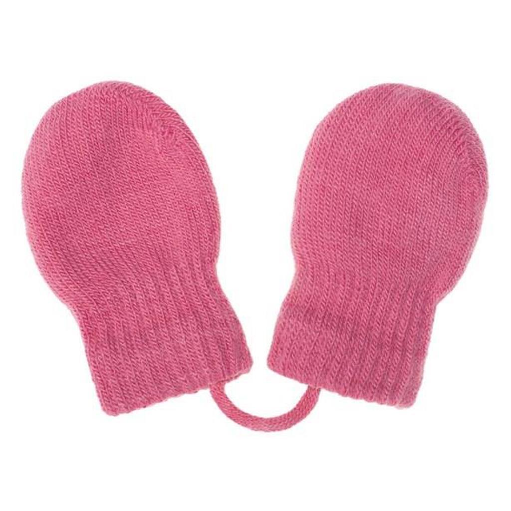 Gyermek téli kesztyű New Baby rózsaszín