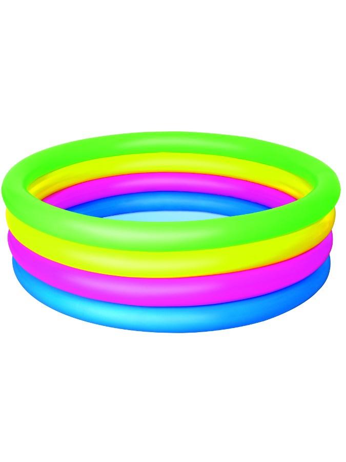 Gyermek felfújhatós medence Bestway 4 színű