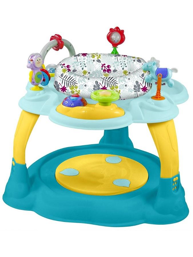 Többfunkciós játékasztal Baby Mix kék-sárga