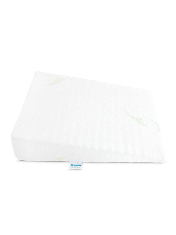 Baba párna - ék alakú Sensillo fehér 30x37 cm kocsiba ... 33eefbb630