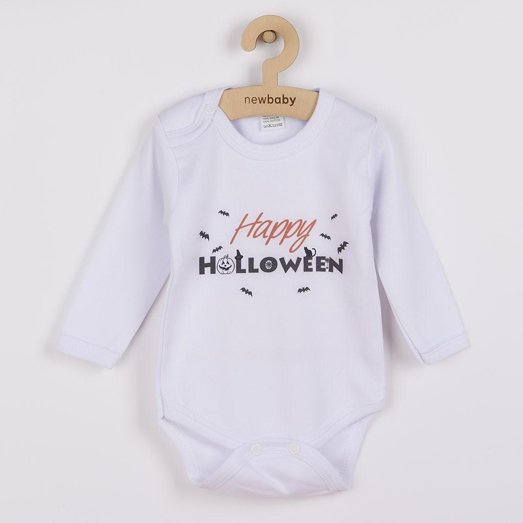 Body nyomtatott mintával New Baby Happy Halloween