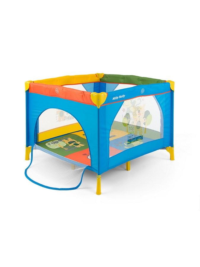 Gyermek összecsukható járóka Milly Mally Fun multicolor