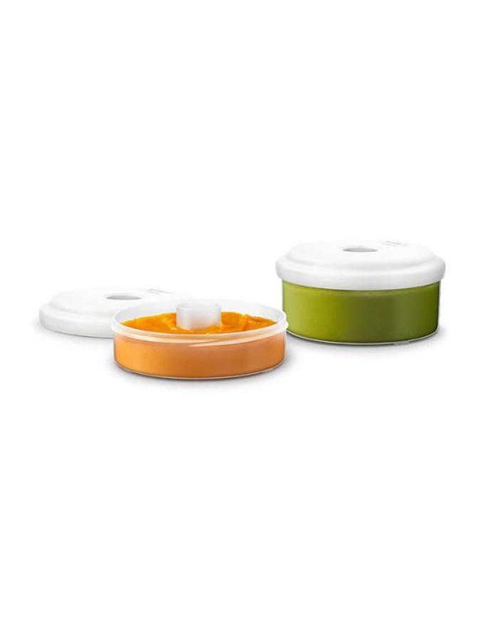 Tároló edények a pároló és turmixgép Philips AVENT készítőhöz