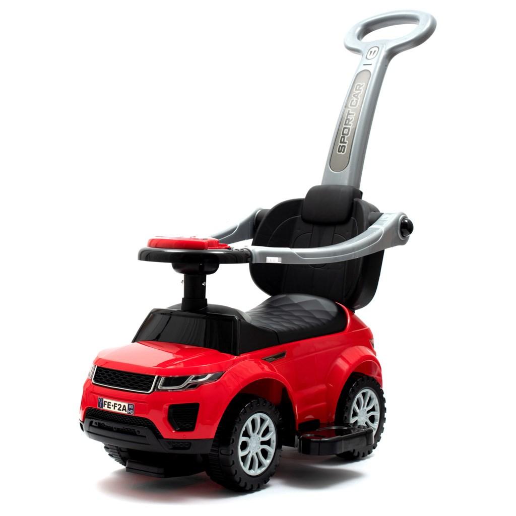 Gyerek jármű Baby Mix 3 az 1-ben piros