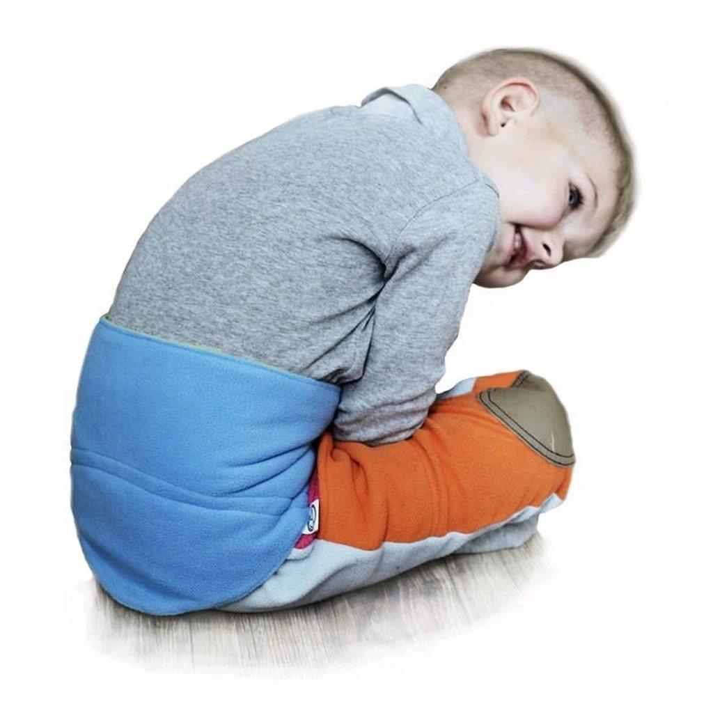 Gyermek derékszíj 0-5 éves VG antracit-lime