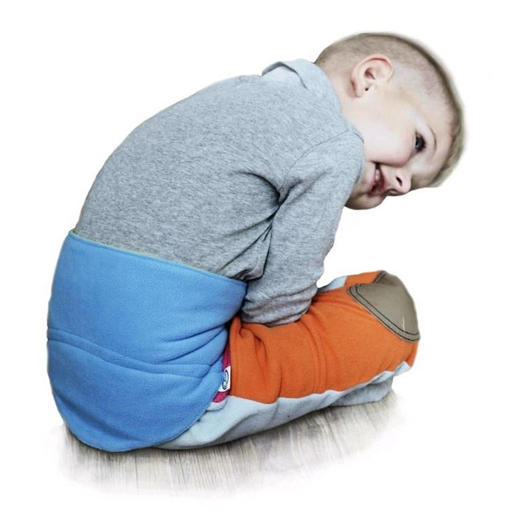Gyermek derékszíj 5-11 éves VG antracit-kék