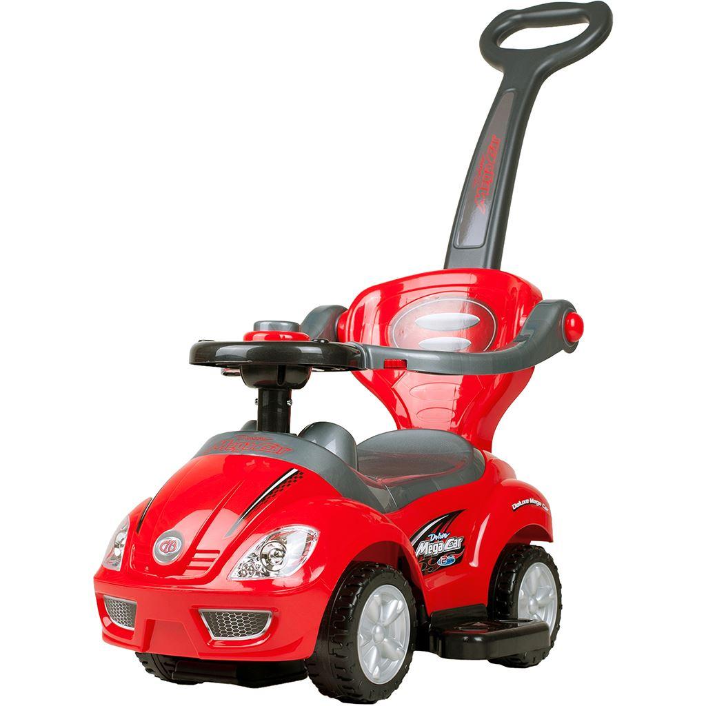 Gyermek jármű 3az1-ben Bayo Mega Car red