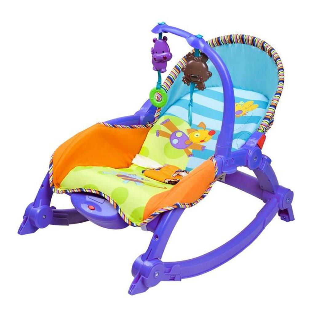 Gyerek pihenőszék 2v1 Bayo blue