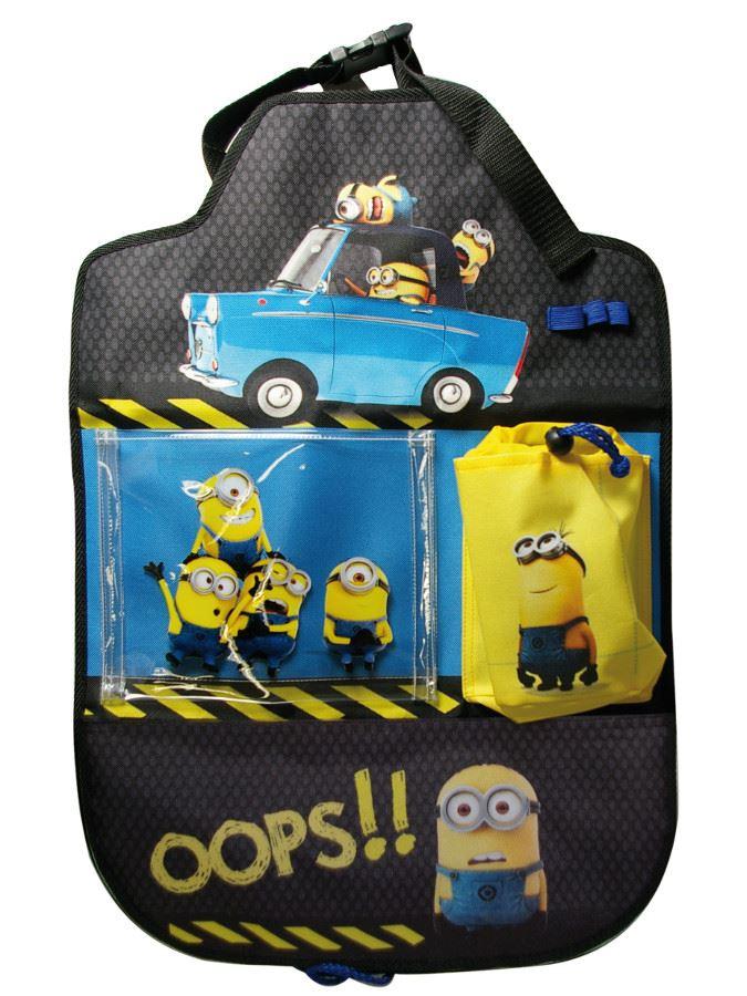 Zsebes tároló autóba Disney Minions 40x60 cm
