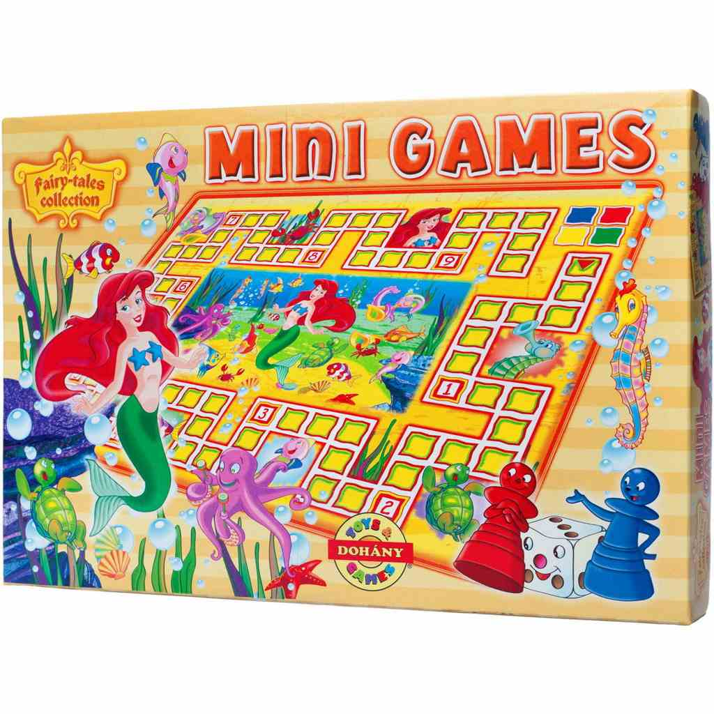 Mini Games asztali játék A kis hableány