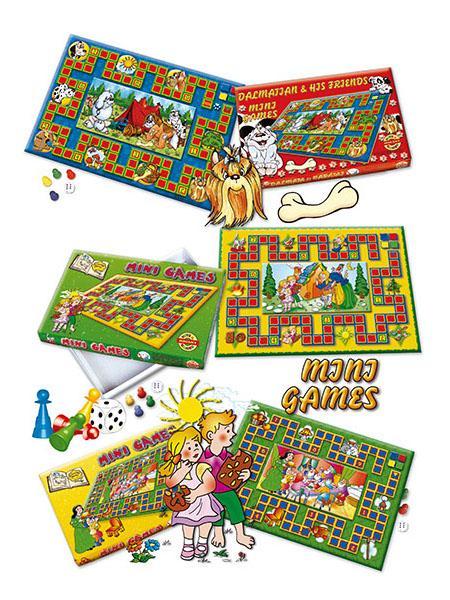 Mini Games asztali játék Hófehérke
