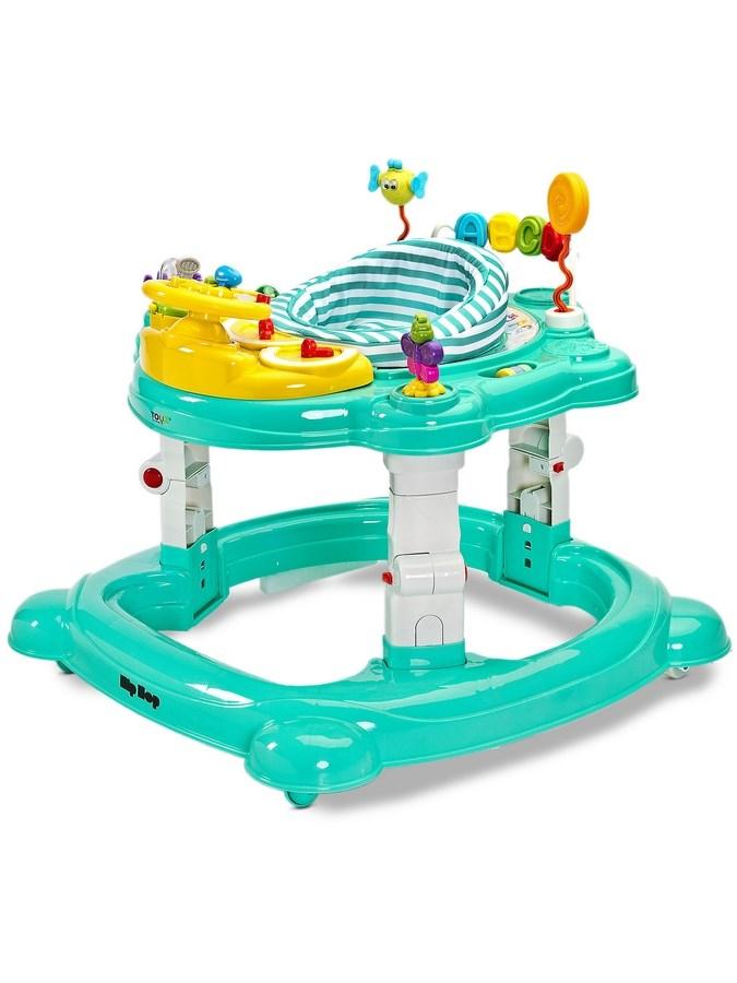 Gyermek bébikomp Toyz HipHop 3az1-ben zőld