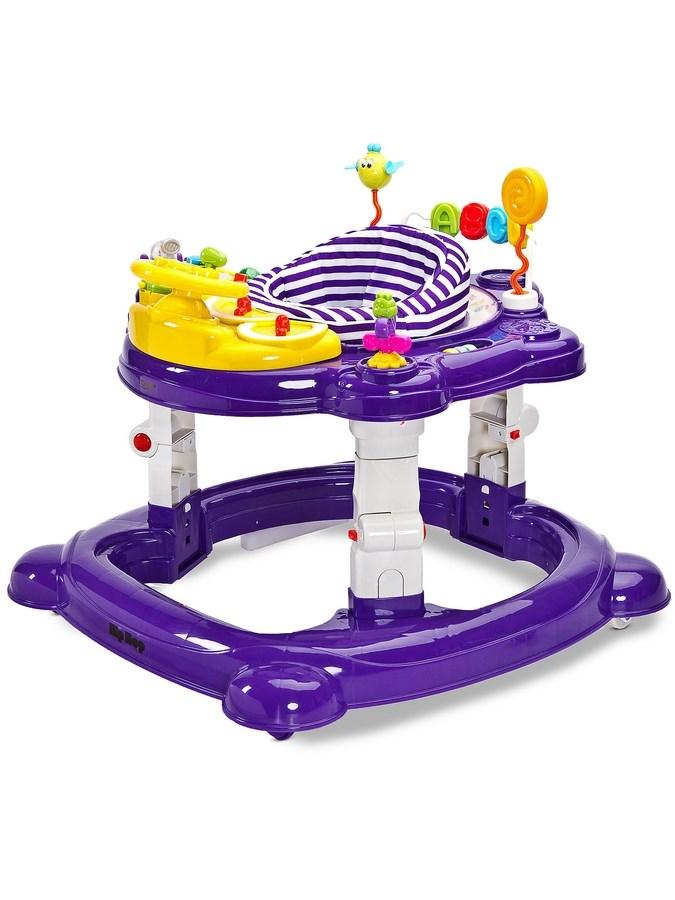 Gyermek bébikomp Toyz HipHop 3az1-ben lila