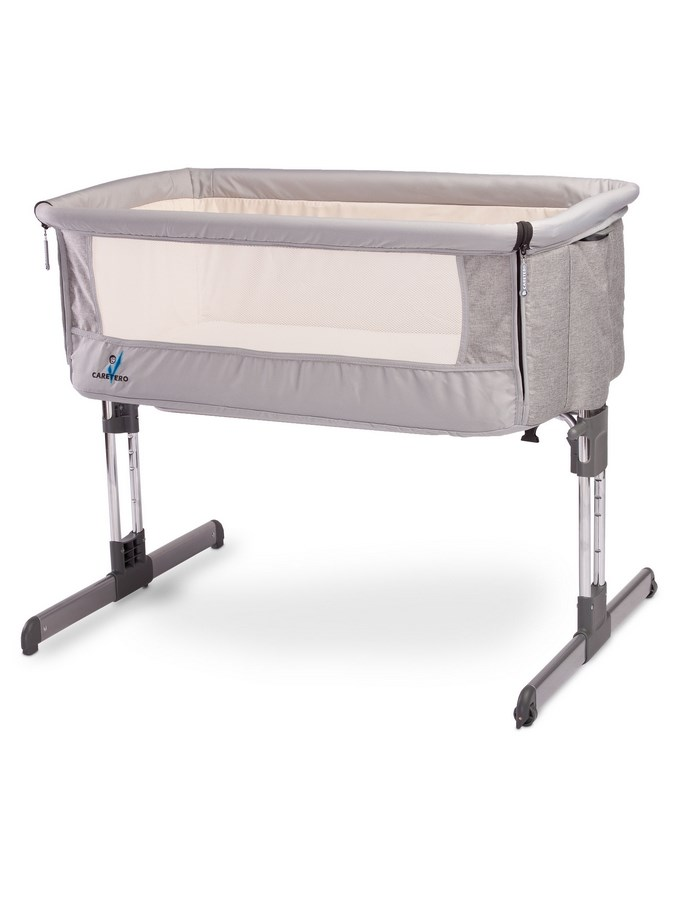 Gyermek kiságy CARETERO Sleep2gether grey