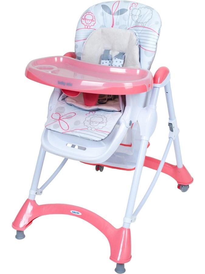 Etetőszék Baby Mix pink