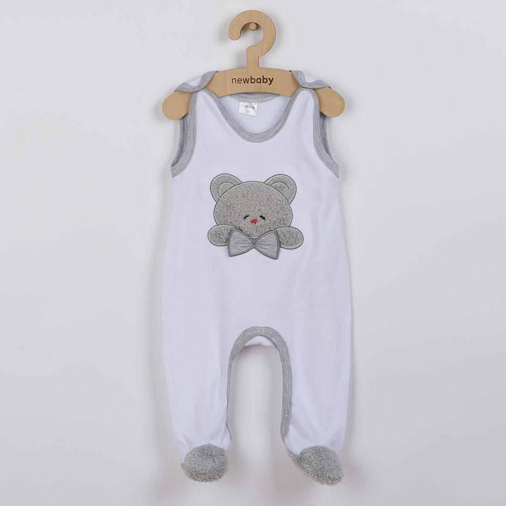 Luxus baba rugdalózó New Baby Honey Bear 3D