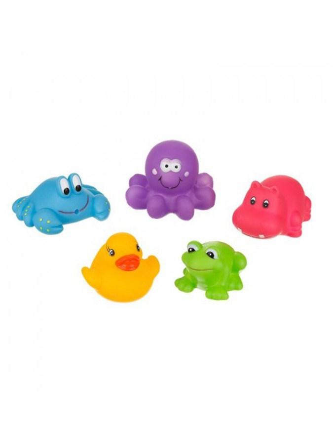 Fürdőjáték Akuku állatkák kicsik