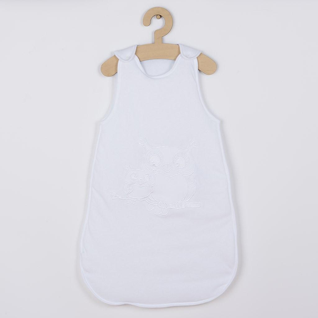 Baba hálózsák New Baby Baglyócska fehér