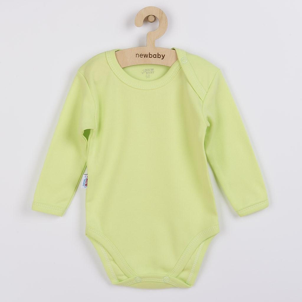Baba hosszú ujjú body New Baby Pastel zöld 5ac267faa7