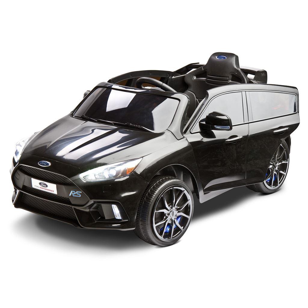 Elektromos autó Toyz  FORD FOCUS RS- 2 motorral black