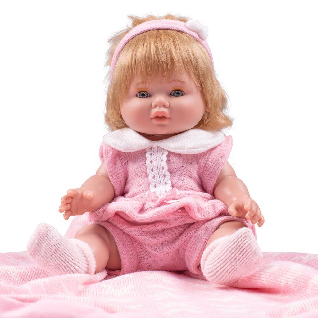 Luxus spanyol baba-kisbaba Berbesa Amalia 35cm