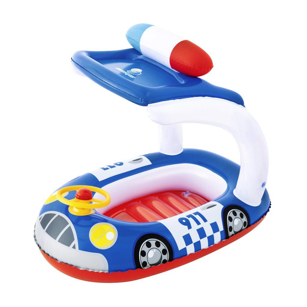 Gyermek felfújható csónak tetővel Bestway rendőrség