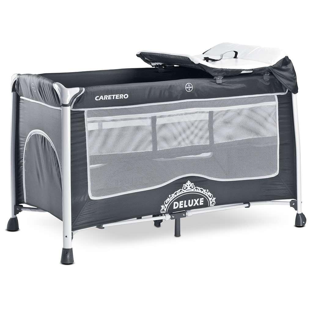 Utazóágy CARETERO Deluxe graphite