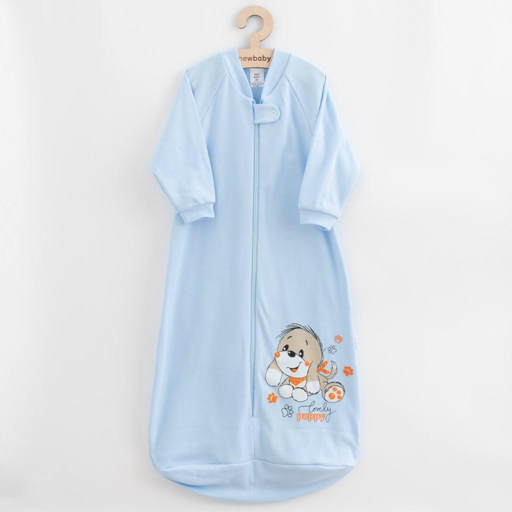 Baba hálózsák New Baby kutyus kék