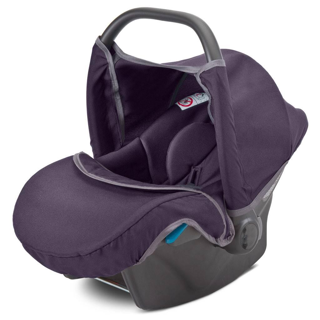 Autós gyerekülés-babahordozó CAMINI Musca purple