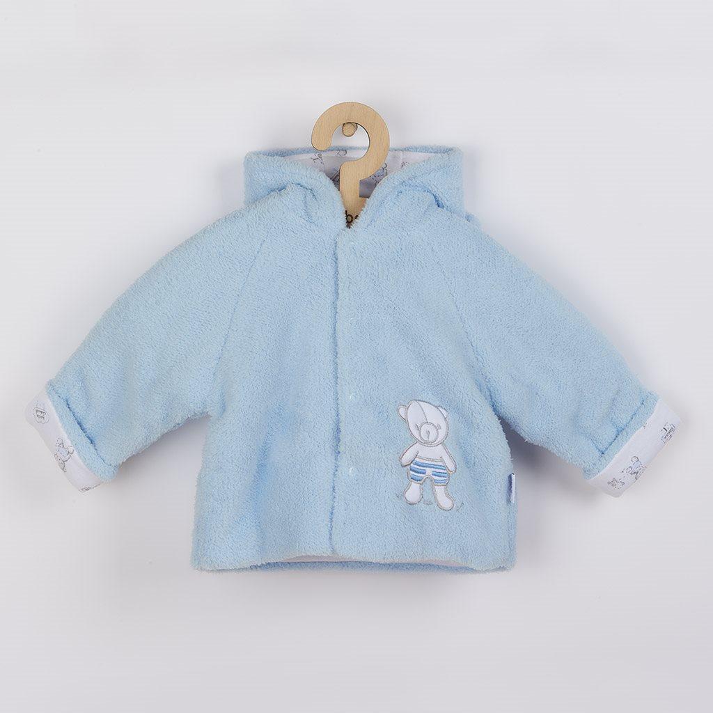 Téli baba kabátka New Baby Nice Bear kék