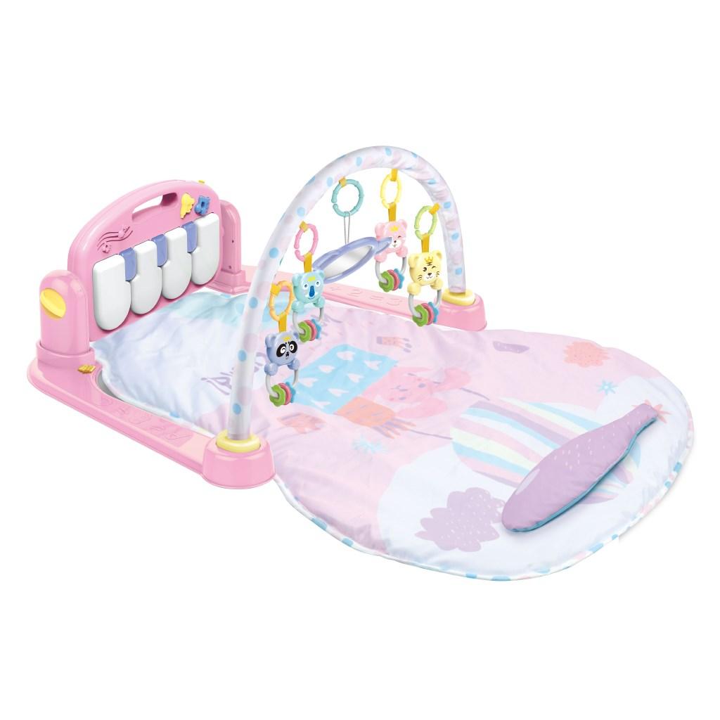 Játszószőnyeg zongorával Bayo rózsaszín