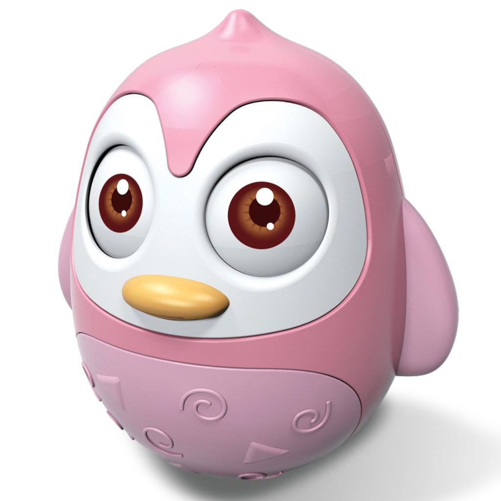 Keljfeljancsi játék Bayo pingvin pink