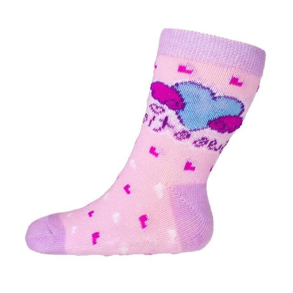 Baba zokni New Baby ABS-el rózsaszín sweetie
