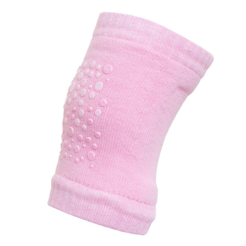 Gyermek térdvédő New Baby ABS-el pink