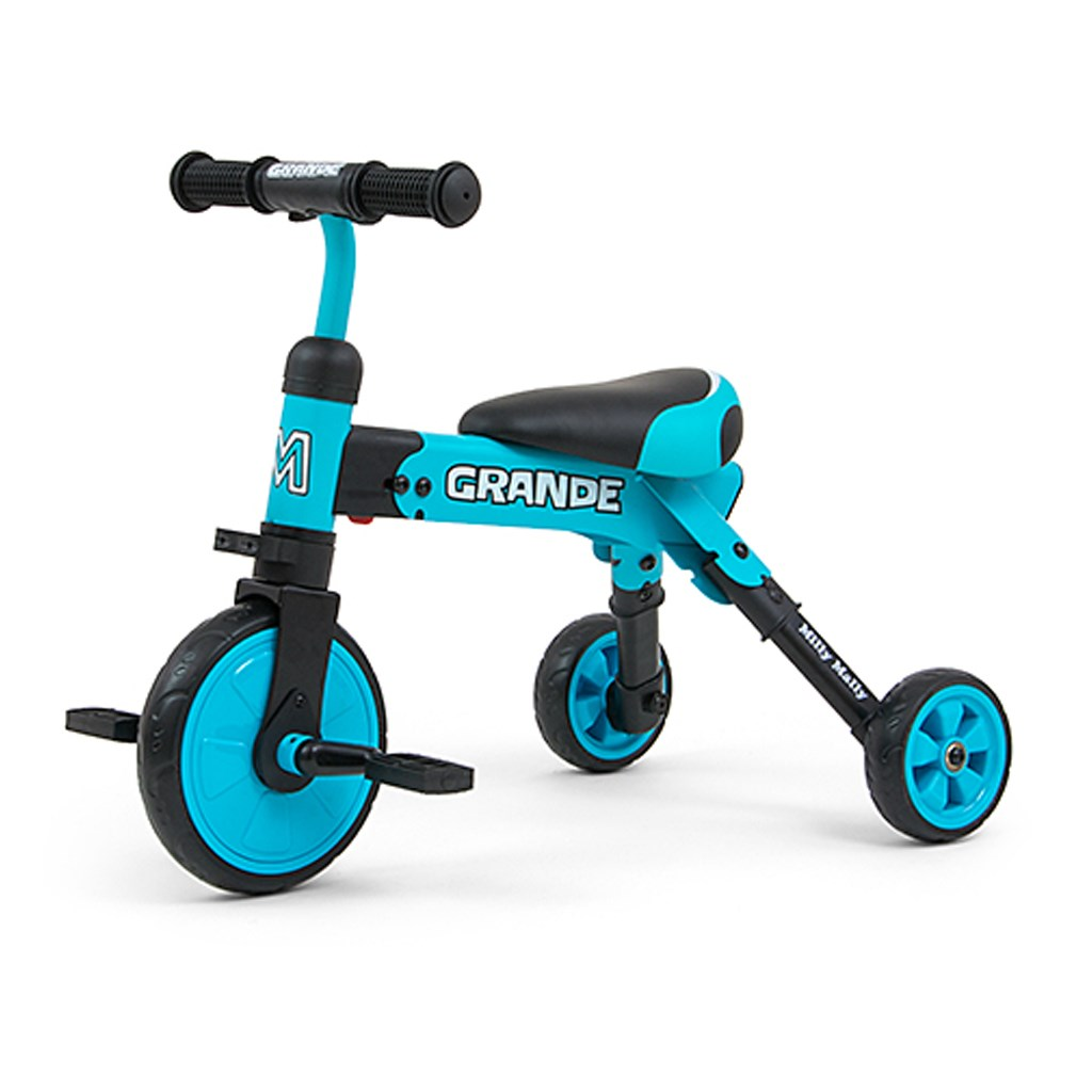 Gyerek háromkerekű bicikli Milly Mally Grande blue