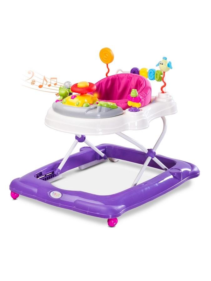 Gyerek járóka Toyz Stepp purple (a csomagolás sérült)