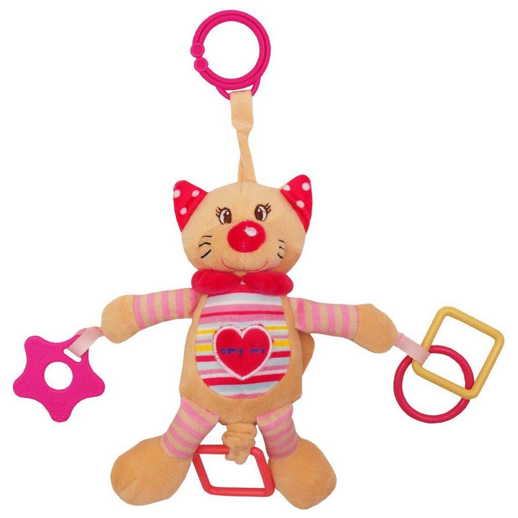 Vibrálós gyerek plüss játék Baby Mix cica