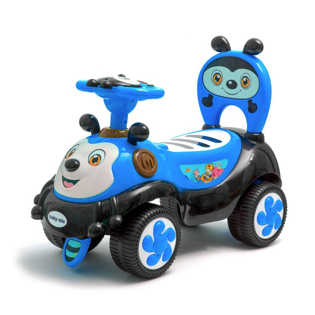Lábbal hajtós kisautó  Baby Mix Happy Bee blue