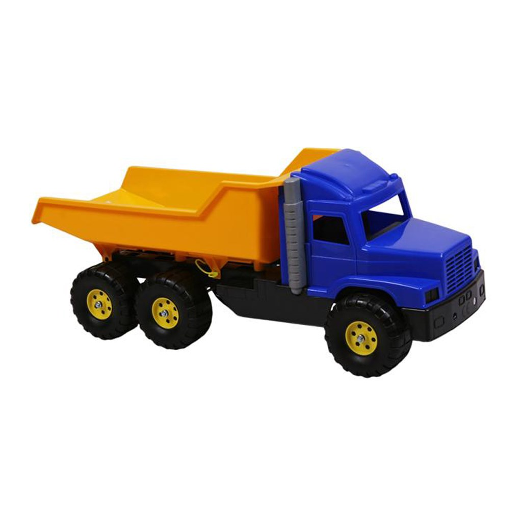 Játék homokozóba - teherautó sárga - kék