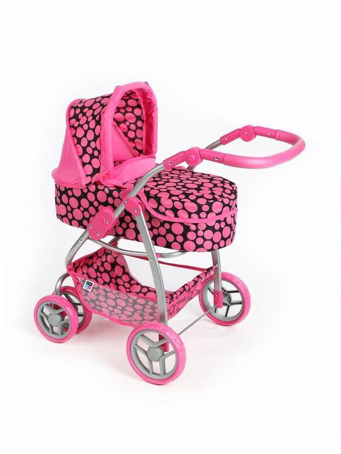 Multifunkciós játék babakocsi PlayTo Jasmínka rózsaszín