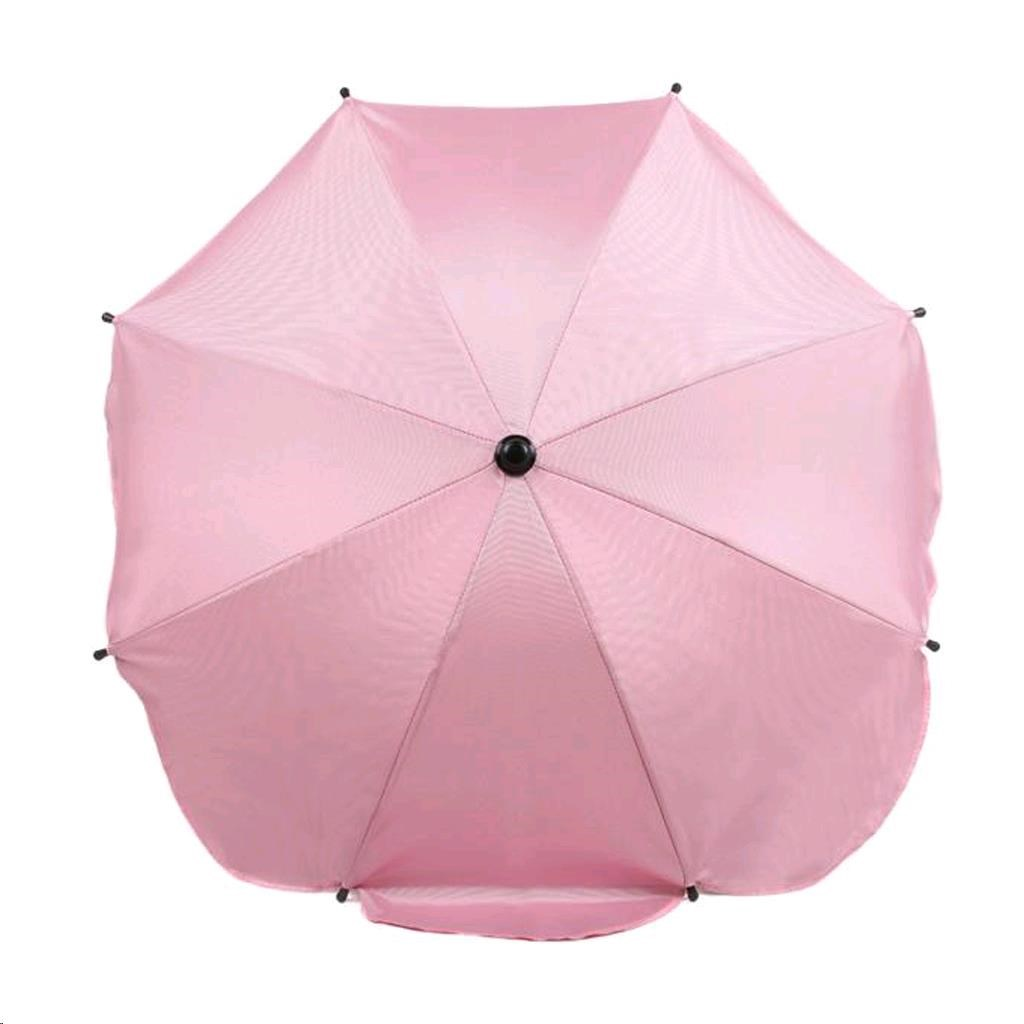 Napernyő babakocsira rózsaszín