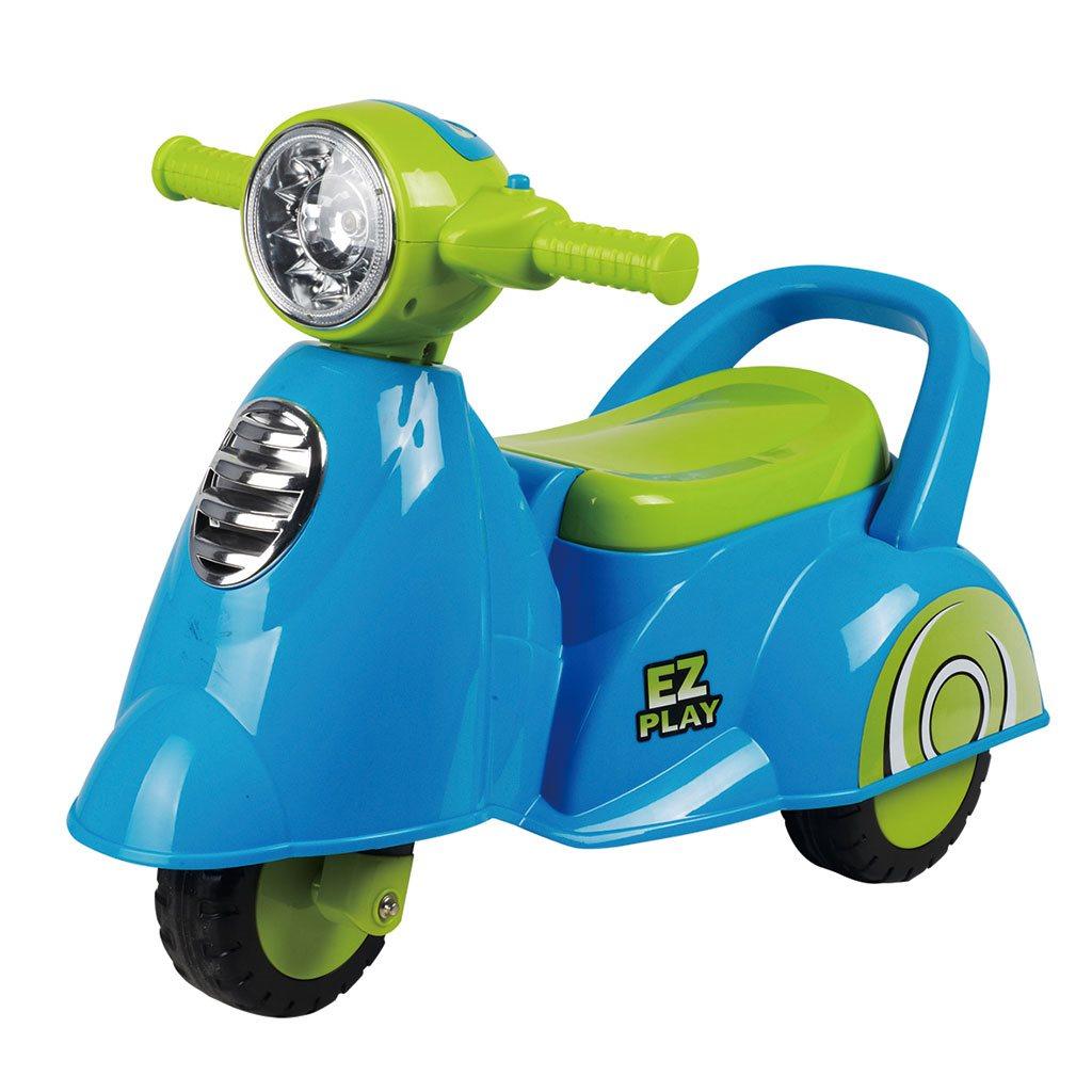 Gyerek zenélős jármű Baby Mix Scooter kék
