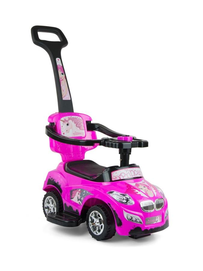 Gyermekjármű 2in1 Milly Mally Happy pink