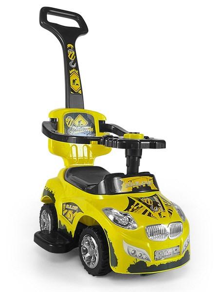 Gyermekjármű 2in1 Milly Mally Happy yellow